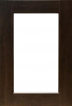 IKEA EDSERUM Vitrinentür 40x60 in braun 402.212.12
