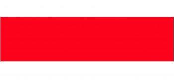 IKEA Numerär Arbeitsplatte rot weiß 246cm x 62cm 402.227.25