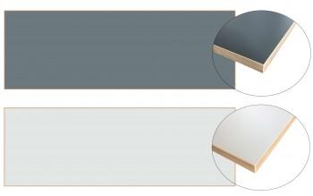 IKEA BERGSTEN Arbeitsplatte beidseitig verwendbar grau oder weiß 186cm x 63,5cm 402.743.66