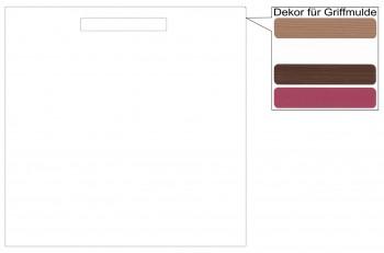 IKEA Märsta Tür Küchenfront 60x60cm weiß Griffmulde 402.972.35