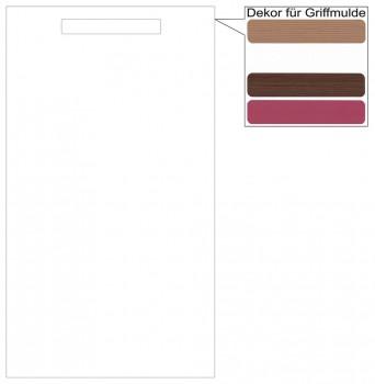 IKEA Märsta Geschirrspülerfront 45x80cm weiß Griffmulde 402.977.11
