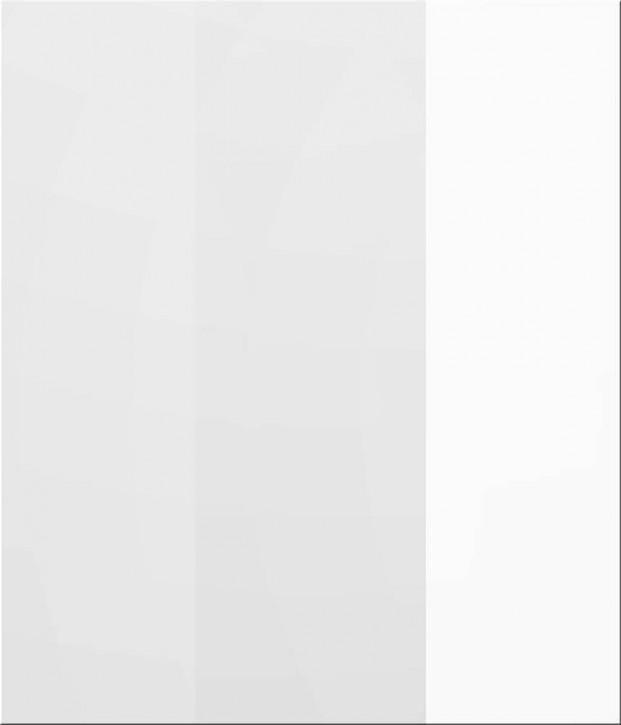 IKEA ABSTRAKT Perfekt Deckseite 70cm Hochglanz weiß