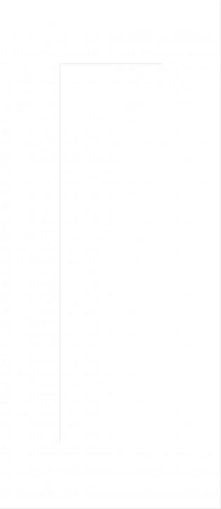 IKEA Applåd Vitrinentür Küchenfront 40x92cm in weiß 501.103.36
