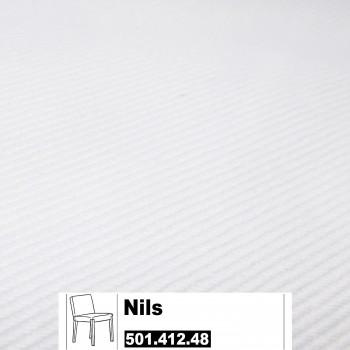 IKEA Nils Bezug für den Stuhl in weiß 501.412.48