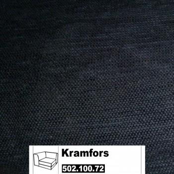 IKEA Kramfors Bezug für Eckelement in Sanne grau 502.100.72