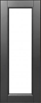 IKEA LAXARBY Vitrinentür Küchenfront 30x80cm Massive Birke in schwarzbraun 502.218.72
