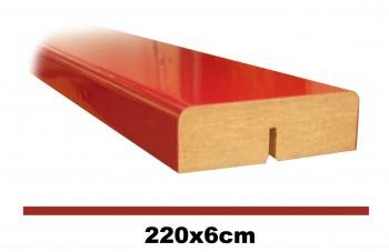 IKEA RINGHULT Dekorleiste 220cm Hochglanz rot 502.559.23