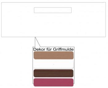 IKEA Märsta Schubladenfront 60x20cm weiß Griffmulde 502.854.30