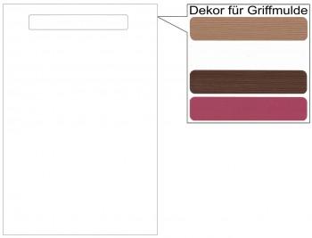 IKEA Märsta Tür Küchenfront 40x60cm weiß Griffmulde 502.972.30