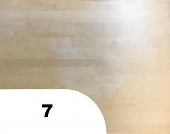 IKEA Galant Ecktischplatte / L - Form 160x80x60x120cm  - Birke gebraucht 600.568.62