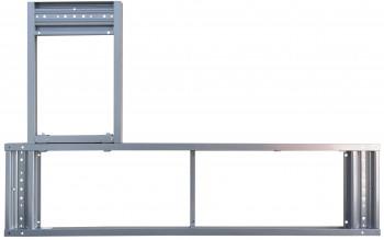 IKEA Galant Rahmen für Ecktischplatten 160x120cm 600.568.81