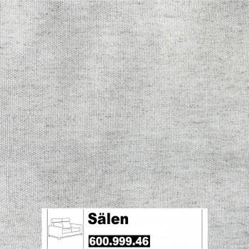 IKEA Sälen Bezug für einen 2er Sofa in Fjallbacka Naturfarben 600.999.46