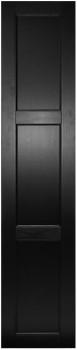 IKEA RAMSJÖ Tür Küchenfront 40x195cm Massive Buche in schwarzbraun 601.532.93