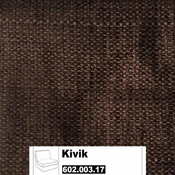 IKEA Kivik Bezug für 1er Sitzelement in Tullinge dunkelbraun 602.003.17