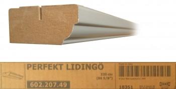 IKEA Lidingö Kranzleiste 220x6 grau 602.207.49