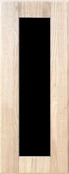 IKEA HYTTAN Vitrinentür Küchenfront 30x80cm Massive Eiche 602.219.04