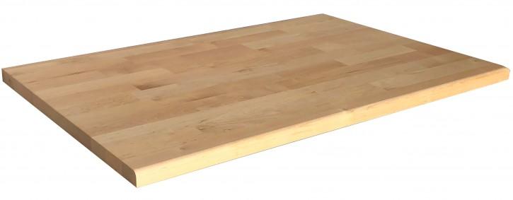 IKEA Vättern Abdeckplatte vorne gerundet 80x53cm Birke Massiv 700.478.10