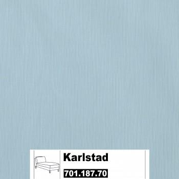 IKEA Karlstad Bezug für Recamiere (Freistehend) in Sivik hellblau 701.187.70