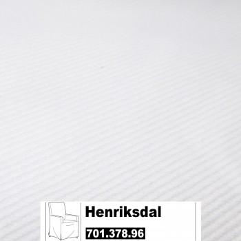 IKEA Henriksdal Bezug Husse für Stuhl in Blekinge weiß 701.378.96