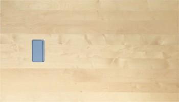 IKEA Galant Konferenztischplatte 195x110cm  - Birke 701.501.66