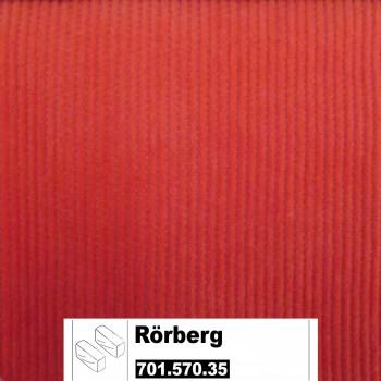 IKEA Rörberg Bezug für Armlehnen (Paar) in Leaby orange 701.570.35