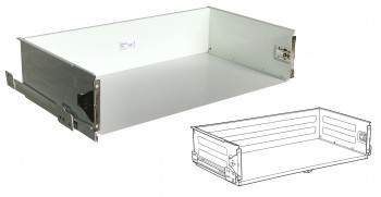 IKEA FÖRVARA Schublade 60x37cm hoch weiß für METOD Küchen 702.153.04