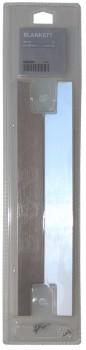 IKEA Tür Griffe (2 Stück) BLANKETT in silber 702.222.34