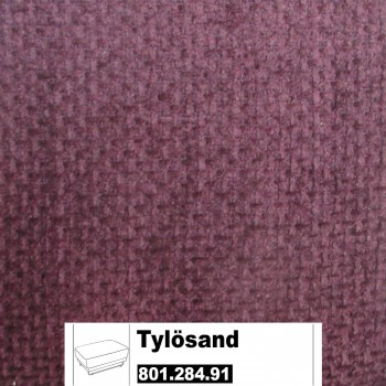 IKEA Tylösand Bezug für den Hocker  in Rephult purpur  801.284.91