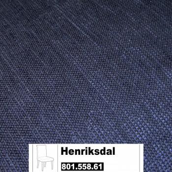 IKEA Henriksdal Bezug für einen Stuhl in Sanne blau 801.558.61