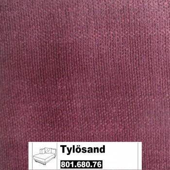 IKEA Tylösand Bezug für die Recamiere links in Everöd dunkelrot 801.680.76
