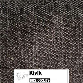 IKEA Kivik Bezug für 3er Sofa in Tullinge graubraun 802.003.59