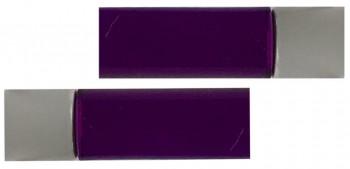 IKEA BEGRIPLIG Endstücke für Gardinenstangen 16-19mm lila, transparent, Acryl