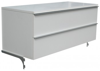 IKEA Änga, TV Bank mit 2 Schubladen 100x42x40cm 501.172.48