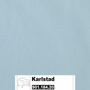 IKEA Karlstad Bezug für Sessel (Groß) in Sivik hellblau 901.184.20