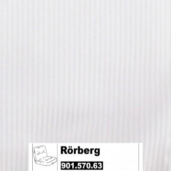 IKEA Rörberg Bezug für Sessel in Leaby weiß 901.570.63