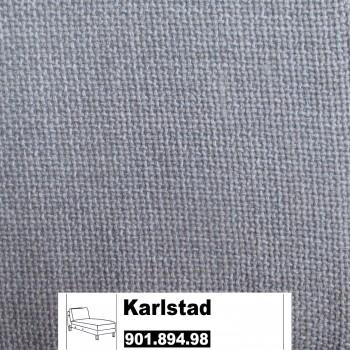 IKEA Karlstad Bezug für Anbaurecamiere in Tenö hellgrau 901.894.95