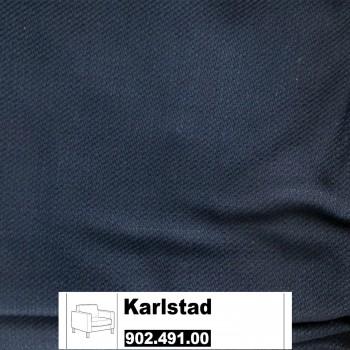 IKEA Karlstad Bezug für Sessel in Isefall schwarz 902.491.00