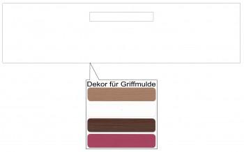 IKEA Märsta Schubladenfront 80x20cm weiß Griffmulde 902.854.33
