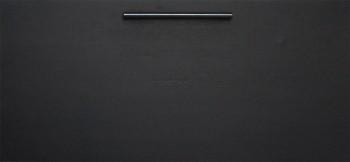 IKEA Effektiv Front für Mappenrahmen in schwarzbraun (Lansa griff 160mm)
