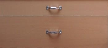 IKEA Effektiv Schubladenfonten in Buche + Griffe (Zuletzt verkauftes Sortiment)