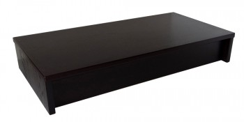 IKEA Effektiv Sockel in schwarzbraun 84x43x14cm 001.052.38 (00105238)