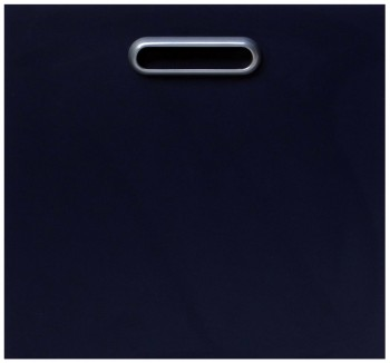 IKEA Effektiv Front f. Mappenrahmen 40x38cm in dunkelblau inkl. Griff