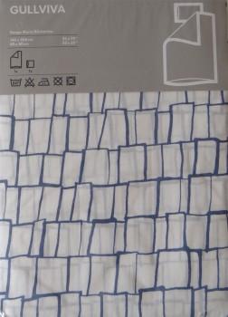IKEA Gullviva Bettwäsche / Garnitur 140cm x 200cm + 80cm x 80cm 600.756.48
