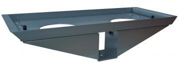 IKEA Effektiv - T, Traversenhalter + Montageplatte silber (alte Serie)