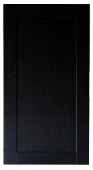 IKEA Effektiv Tür in schwarzbraun mit Eingriff 40x78cm