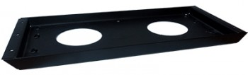 IKEA Effektiv - T, Montage,- Stützplatte in schwarz (alte Serie)