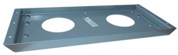 IKEA Effektiv - T, Montage,- Stützplatte in silber (alte Serie)