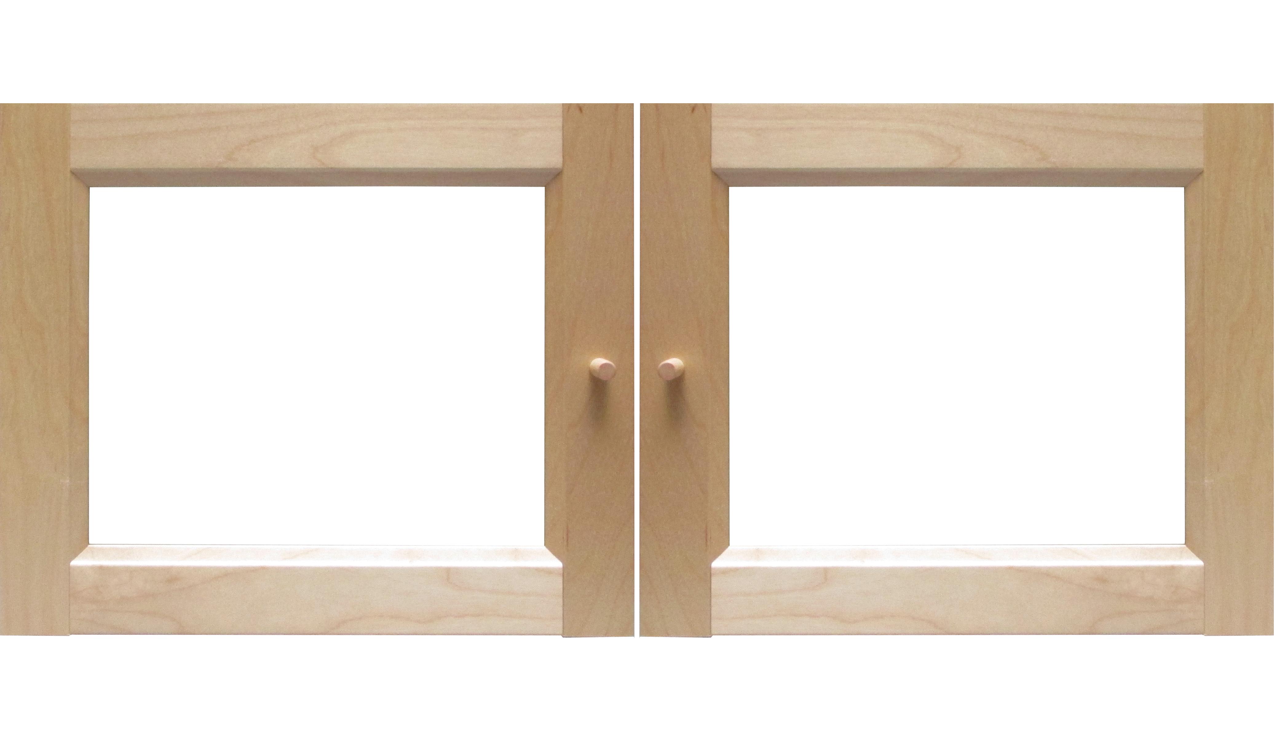 Ikea Vitrinentür ikea billy byom vitrinentüren birke 80x35cm 001 166 75 00116675