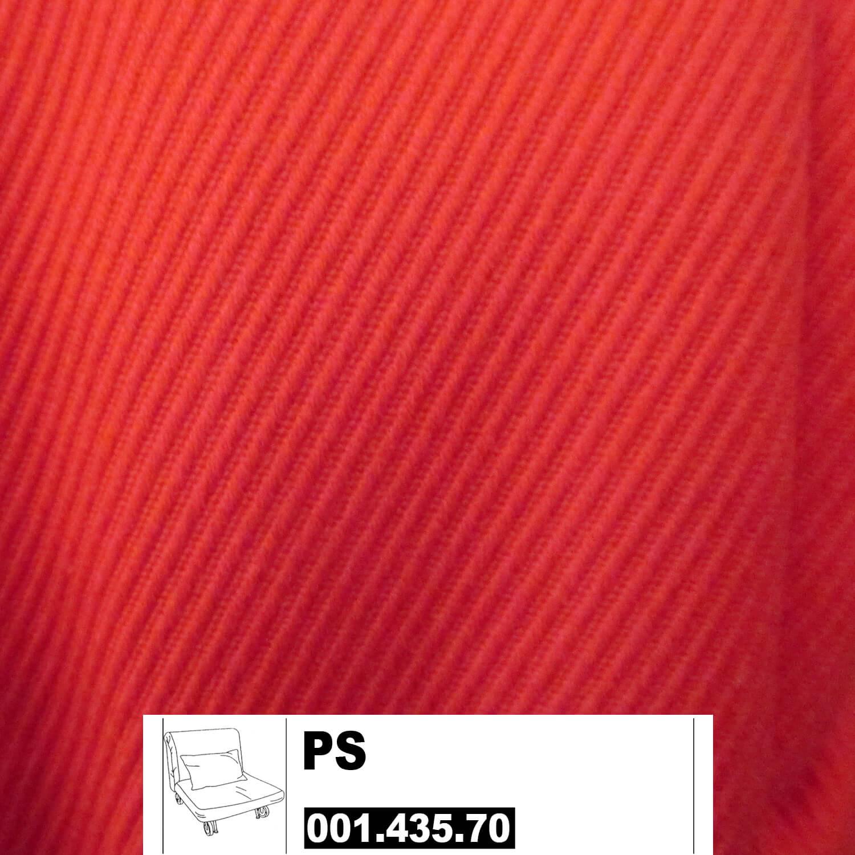 Ikea Ps Bezug F R Bettsessel 80x205cm In Roma Rot
