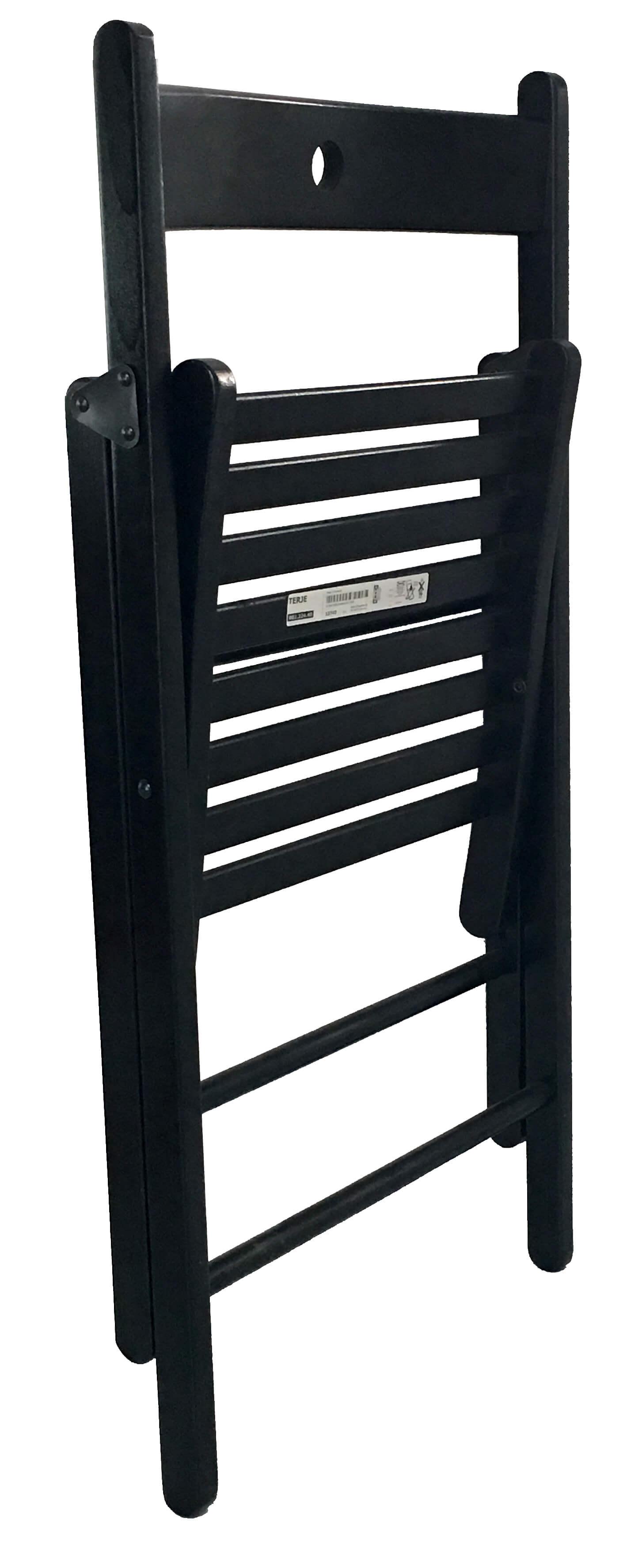 ikea terje klappstuhl massive buche schwarz gebeizt. Black Bedroom Furniture Sets. Home Design Ideas